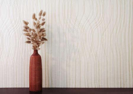 ikebana: ikebana on table