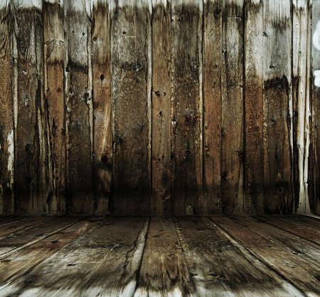vintage wooden room photo