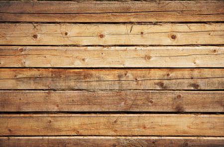 caba�a: pared de madera vieja Foto de archivo