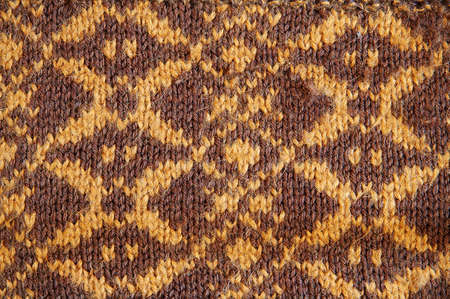 brown wool handmade background photo