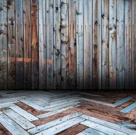 old wooden interior Stock Photo - 13041520
