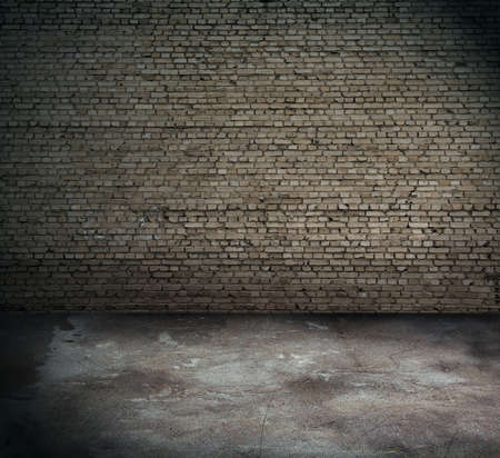 old interior with brick wall Stock Photo - 13073980