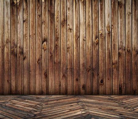 old wooden interior Stock Photo - 13073964