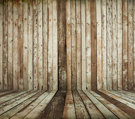 vintage wooden room Stock Photo - 13710950