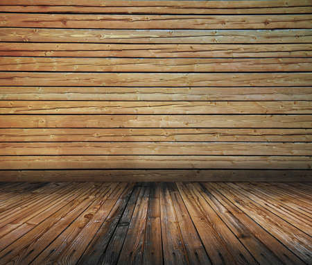 vintage wooden room, dirty background Stock Photo - 13711028