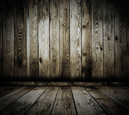 vintage wooden room photo