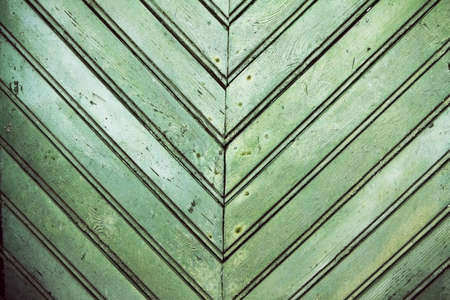 old dirty green wooden wall Stock Photo - 13748203