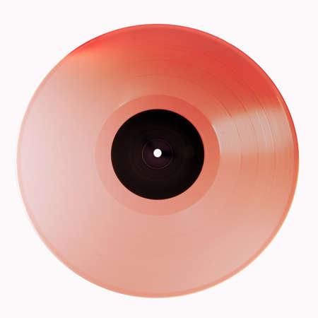 vinyl record isolated on white background Stock Photo - 13785276