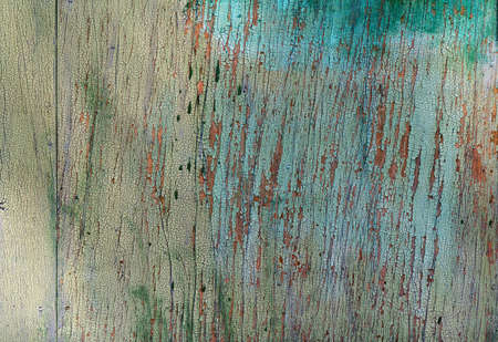 weathered: Vintage painted wooden background