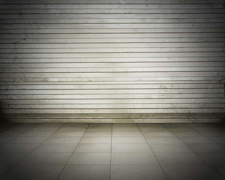 grunge metallic interior, urban background Stock Photo - 15569202