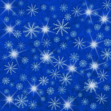 snoflake: winter background with snowflakes