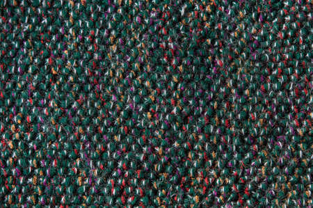 woll: woollen green fabric background Stock Photo