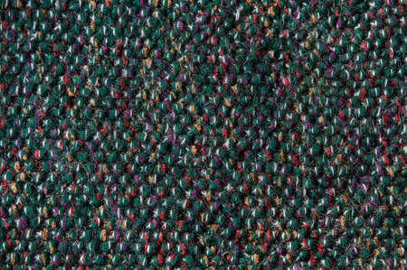 woll: woollen green fabric background Stock Photo