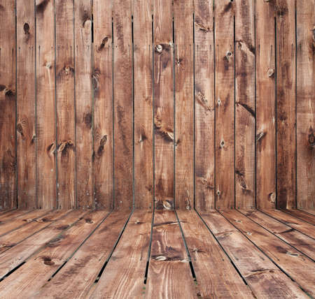 old room, wooden wall photo