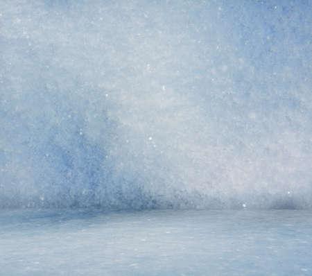 snoflake: frozen room, christmas background  Stock Photo