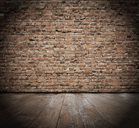 vintage inter with brick wall Stock Photo - 17090987