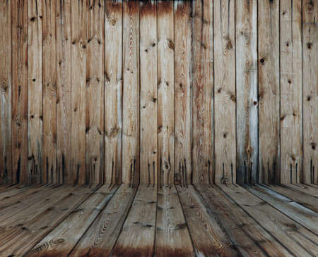vintage wooden room Stock Photo - 17484377
