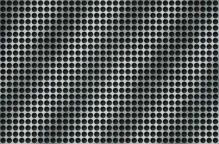 metallic abstract background Stock Photo - 17491720