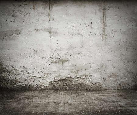 cemento: viejo interior del grunge, fondo de la vendimia Foto de archivo