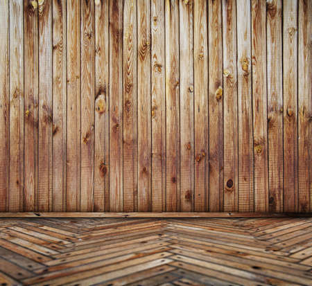old wooden interior photo