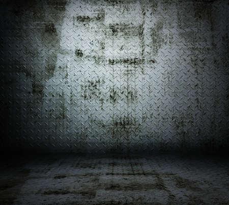 grunge metallic room  Stock Photo - 17559245