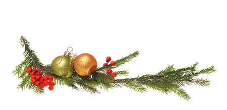 baubles christmas balls: christmas decoration isolated on the white background