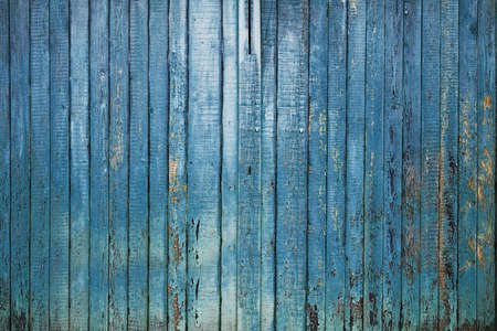 painted old wooden wall. blue background  Stock Photo - 25162929