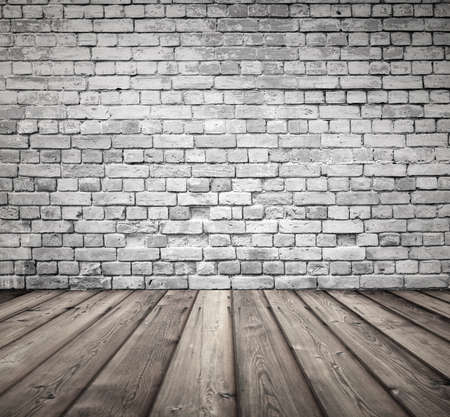 ancient brick wall: old room with brick wall, vintage background