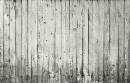 black and white wooden background, old gray wall