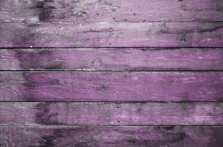 wood abandoned: old dirty wooden wall, purple background