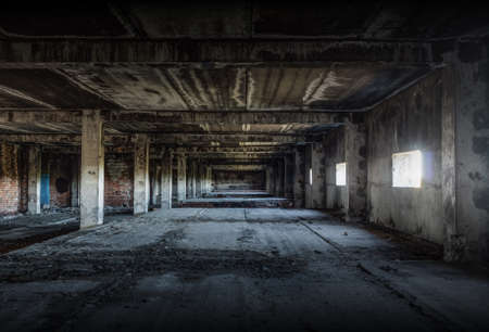 old abandoned building photo