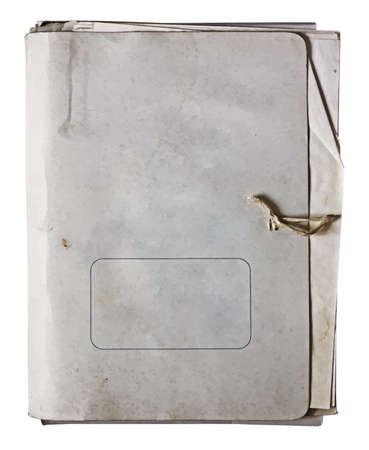 stack of files: old folder, vector Illustration