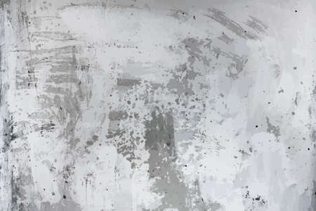 old dirty texture, grey wall background, vector Ilustracja