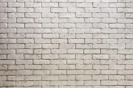 white brick: white brick wall, grungy grey texture, vector