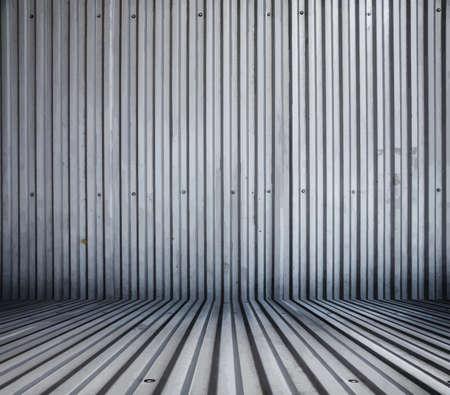 metallic: grunge metallic interior Illustration