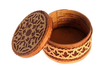 birchen: wooden box
