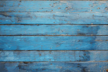 vintage timber: 0ld blue wall