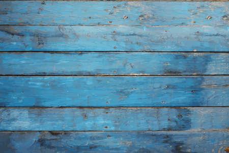 Pared azul 0ld Foto de archivo - 52058301