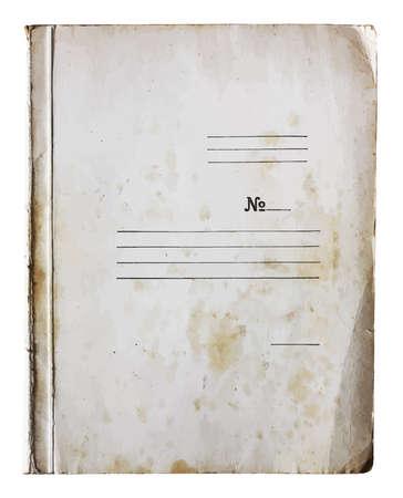 stack of files: old folder
