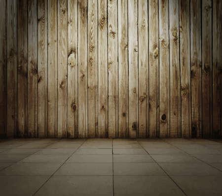 floorboard: old interior
