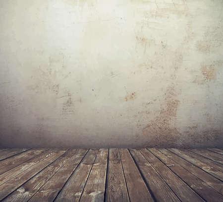 old room  イラスト・ベクター素材