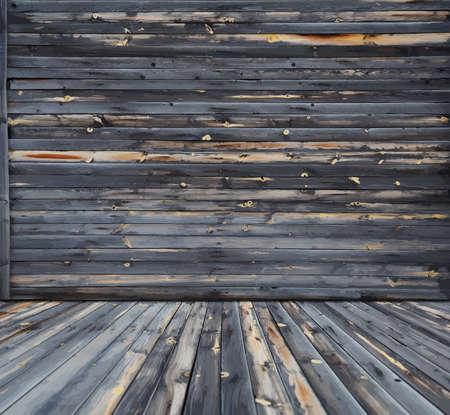 dark wooden interior