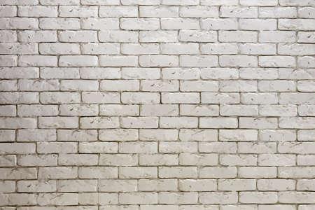 white brick: white brick wall, grungy grey texture Illustration
