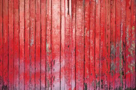 peinte vieux mur en bois. fond rouge