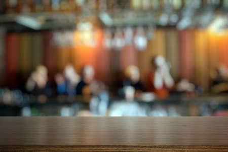 slight: bar in a night club