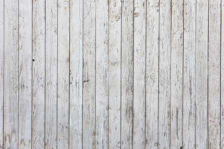 old wooden white wall, old background