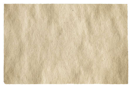old paper isolated on white background 版權商用圖片