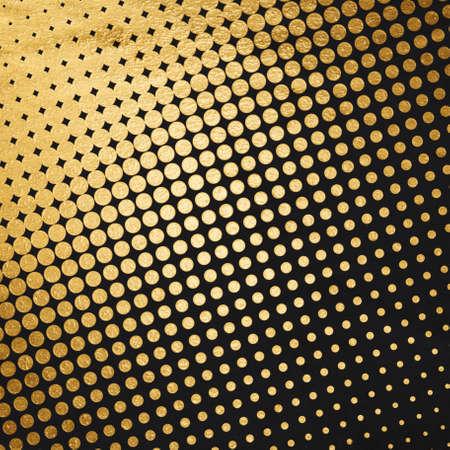 old retro pattern, golden background Zdjęcie Seryjne - 129845180