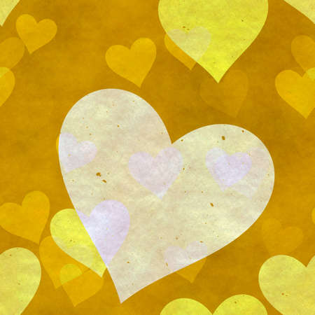 abstract seamless hearts background pattern