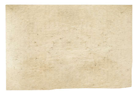old paper isolated on white background Zdjęcie Seryjne
